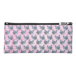 Pastel Pink Tito Cat Pencil Case