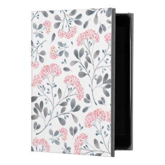 "Pastel Pink Watercolors Flowers Pattern iPad Pro 9.7"" Case"