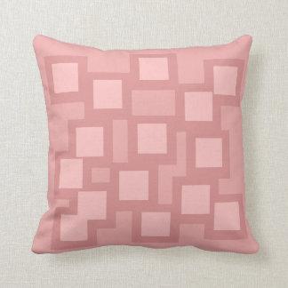 Pastel Pinks Pillow/Cushion Vers 1 Squares Throw Pillow