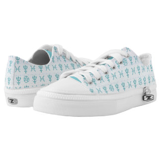 Pastel Pisces Low Top Shoes