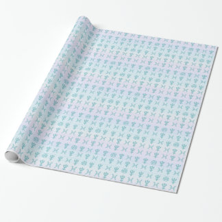 Pastel Pisces Wrapping Paper