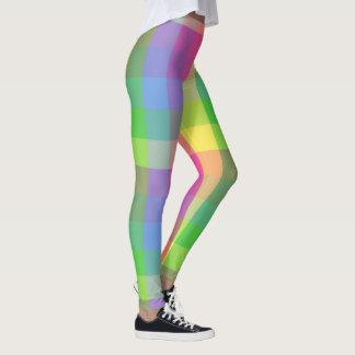 Pastel Plaids Leggings