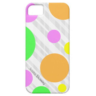 Pastel Polka-dot: iPhone 5 iPhone 5 Covers