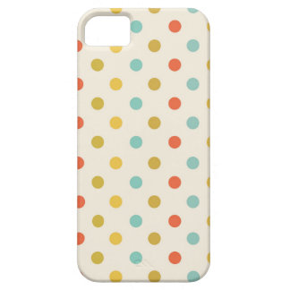 Pastel polka-dots iPhone 5 case
