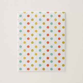 Pastel polka-dots jigsaw puzzle