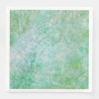 Pastel Pretty Mint Green Modern Watercolor Paper Dinner Napkin