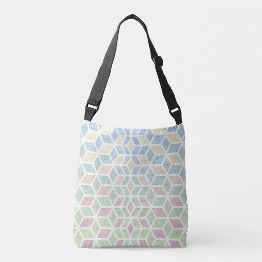 Pastel Prism Crossbody Bag