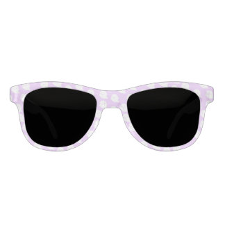Pastel Purple Ghost Sunglasses