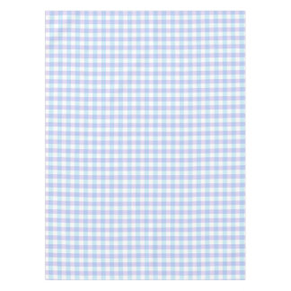 Pastel Purple Gingham Tablecloth