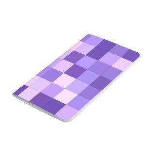 Pastel purple squares journal