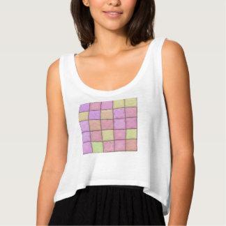 pastel quilt 1(I) Tank Top