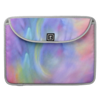 Pastel Rainbow Abstract Art Macbook Sleeve
