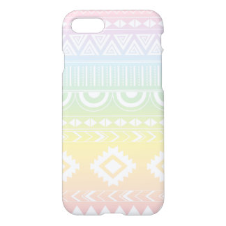Pastel Rainbow Aztec Design Phonecase iPhone 8/7 Case