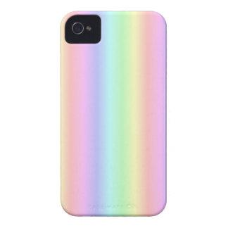 Pastel rainbow iPhone 4 cover