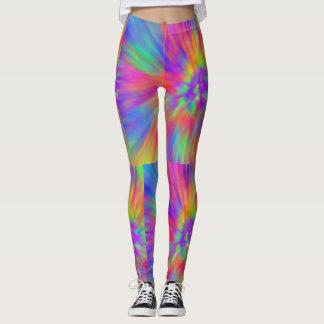 pastel rainbow leggings