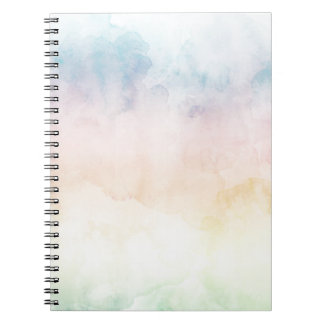 Pastel Rainbow Notebook