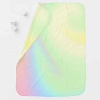 Pastel Rainbow of Color Baby Blanket