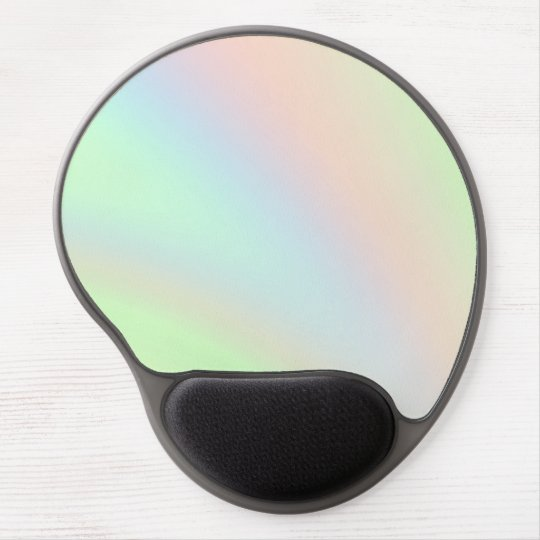 Pastel Rainbow of Colour Gel Mouse Pad