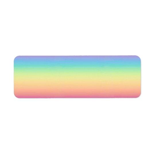 Pastel Rainbow Ombre Custom