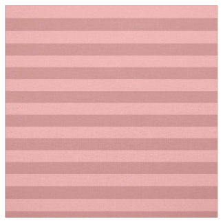 Pastel Red Striped Fabric