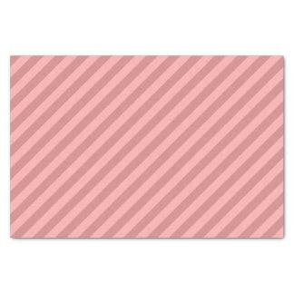 Pastel Red Striped Tissue Paper