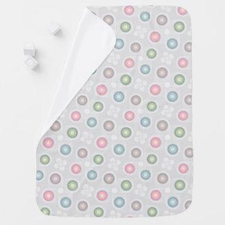 Pastel Retro Geometric Baby Blanket