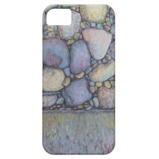 Pastel River Rock and Pebbles iPhone 5 Case