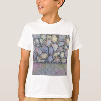 Pastel River Rock and Pebbles T-Shirt