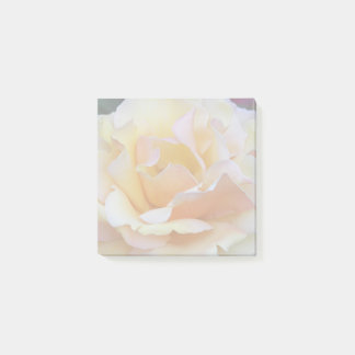 Pastel Rose Floral Post-it Notes