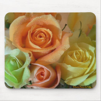 Pastel Roses-Mousepad Mouse Pad