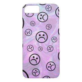 Pastel Sad Face iPhone 8/7 Case