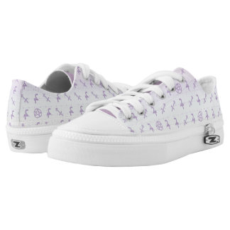 Pastel Sagittarius Low Top Shoes