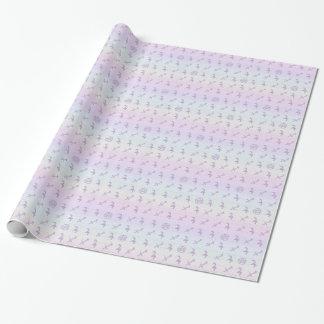 Pastel Sagittarius Wrapping Paper