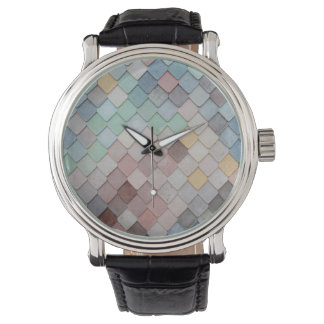 Pastel Scales Watch