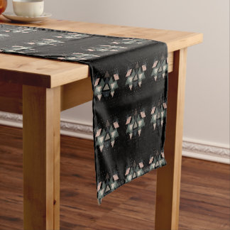 pastel short table runner