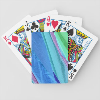 Pastel Silks Abstract Playing Card Deck