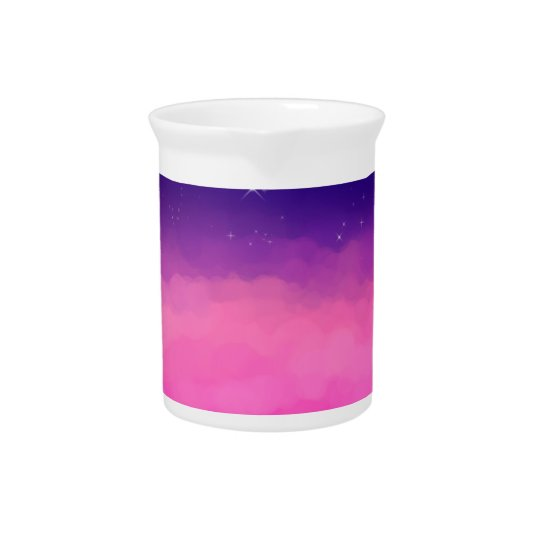 Pastel Sky Drink Pitcher