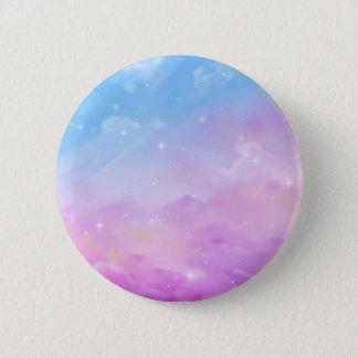 Pastel Sky Galaxy Pin Badge