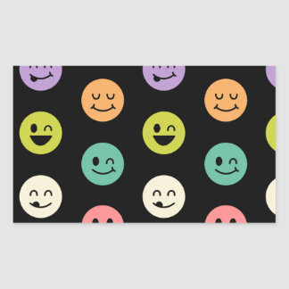 pastel smiley faces