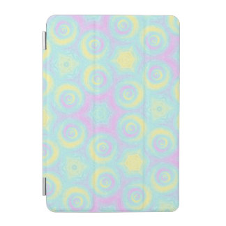 Pastel Spirals iPad Mini Cover