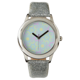 Pastel Spirals Watch