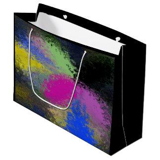 """""""Pastel Splash"""" Large Glossy Gift Bag"""