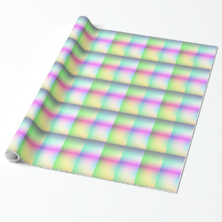 Pastel Squares Wrapping Paper