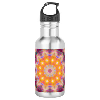Pastel Star Mandala 532 Ml Water Bottle