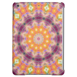 Pastel Star Mandala iPad Air Cases