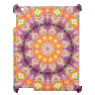 Pastel Star Mandala iPad Cases