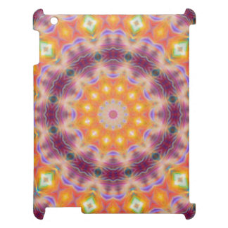 Pastel Star Mandala iPad Covers