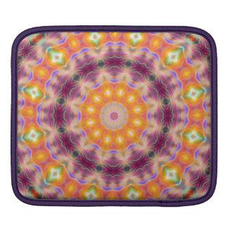 Pastel Star Mandala iPad Sleeve