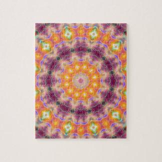 Pastel Star Mandala Jigsaw Puzzle