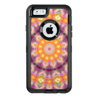Pastel Star Mandala OtterBox Defender iPhone Case